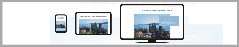 responsive Webseite Ferienwohnung Weiler